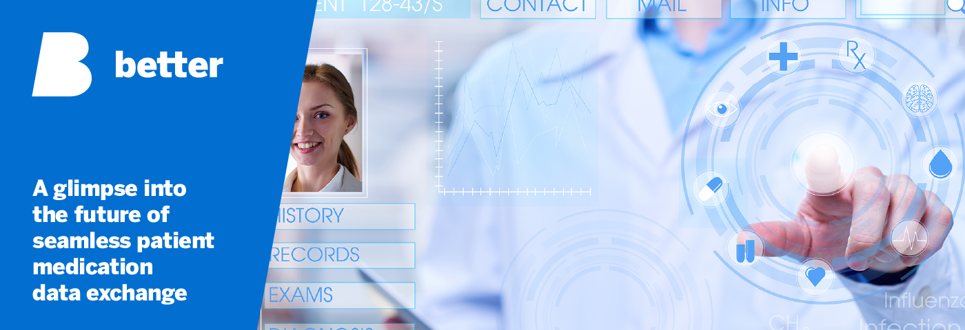 A glimpse into the future of seamless patient medication data exchangeWeb 1400 x 480px